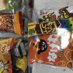 秋祭り袋詰め菓子